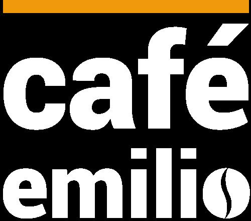 Cafe Emilio Logo weiss